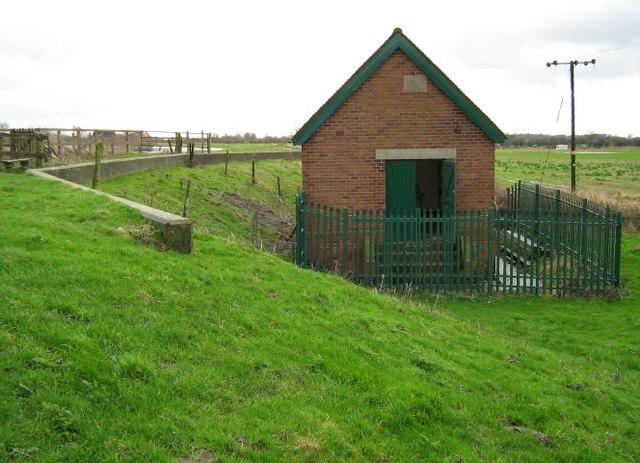 Pump house for Carlton Ings