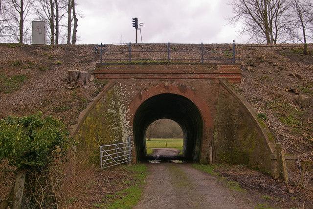 Track under railway