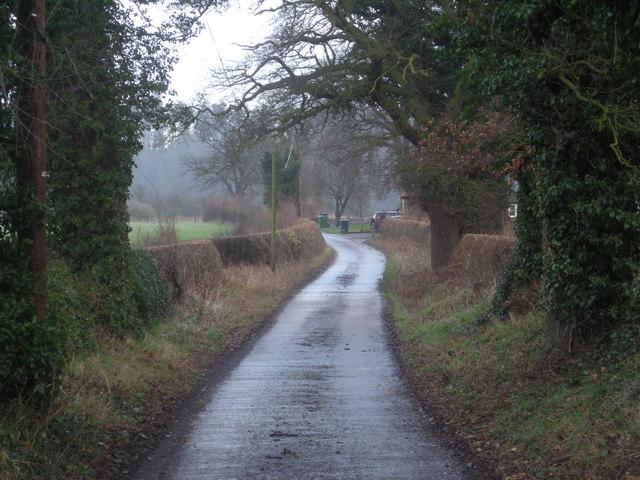 Heading towards Isle Park Farm