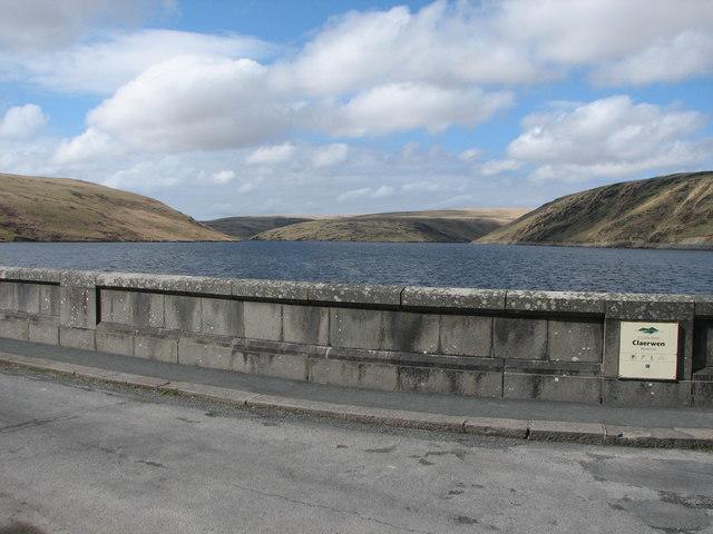 Claerwen Dam Reservoir