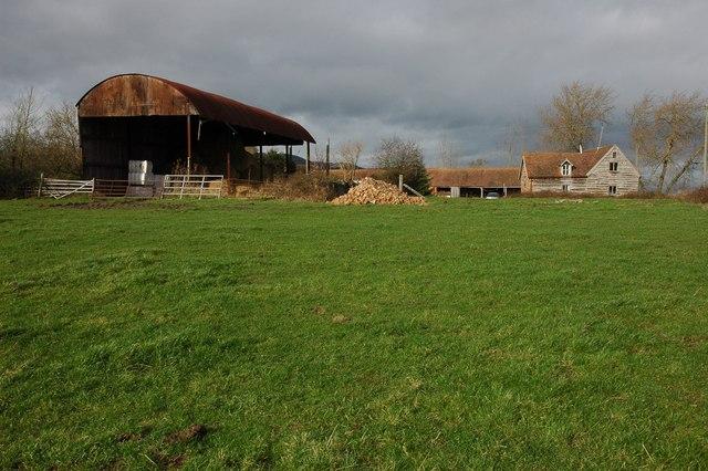 Farm buildings at Hurst Farm, Welland