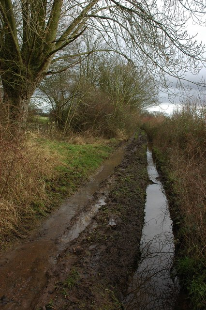 A muddy green lane, Welland