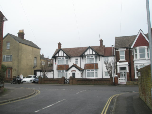 Junction of Dorking Crescent and Magdala Road