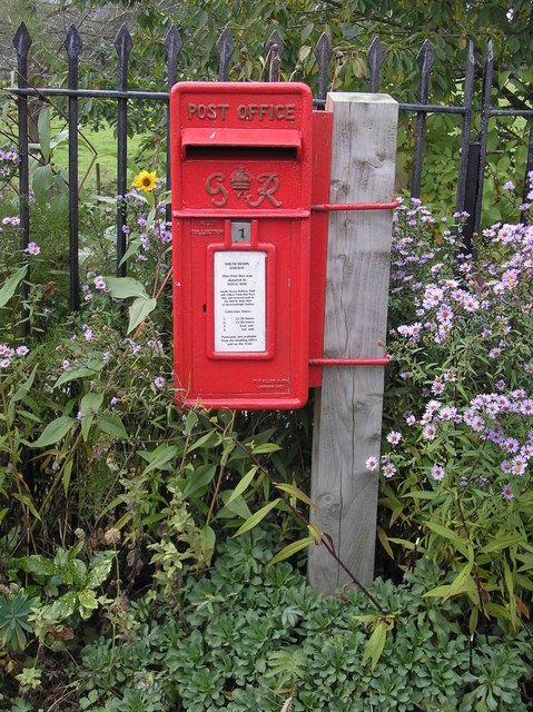 Postbox at Buckfastleigh Station