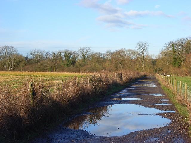 Farm road, Shinfield
