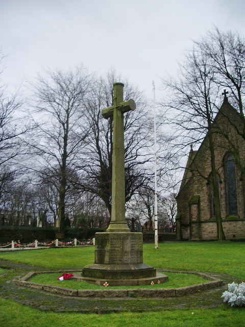 Parish Church of St Peter, Chorley, War Memorial
