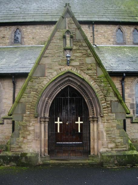 Parish Church of St Peter, Chorley, Porch