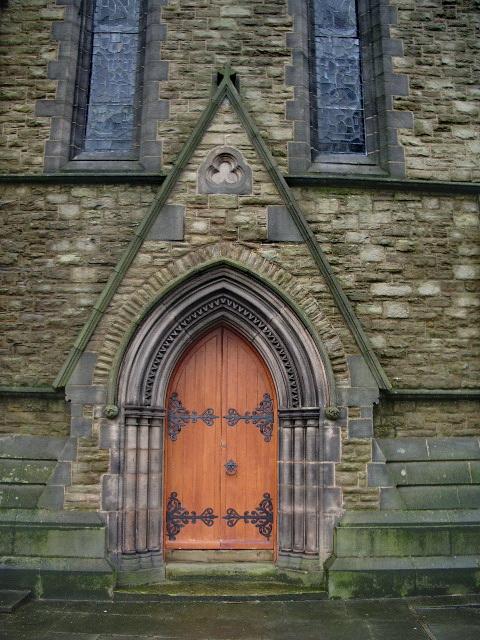 Parish Church of St Peter, Chorley, Doorway