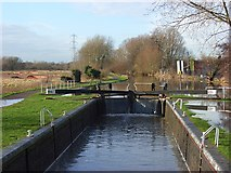 SU7071 : Fobney Lock by Andrew Smith