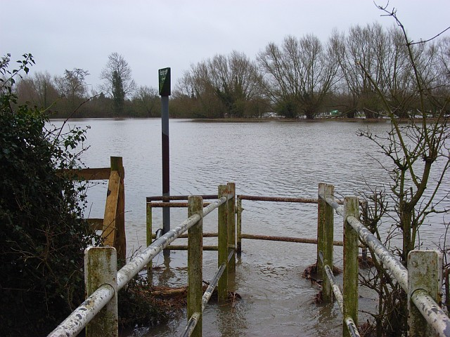 The Loddon floodplain, Hurst