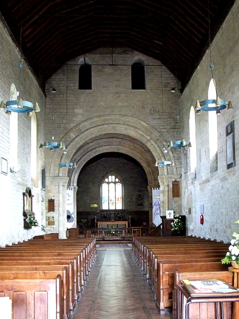 St. Mary's, Portchester - Nave