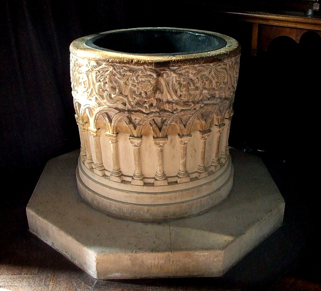 Romanesque Font, St. Mary's Portchester
