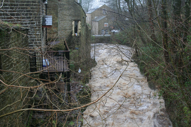 North Beck and Pump House, Goose Eye