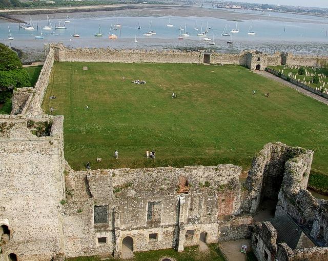 Roman walls, Portchester Castle