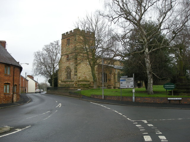 Clifton On Dunsmore-Saint Mary's Church