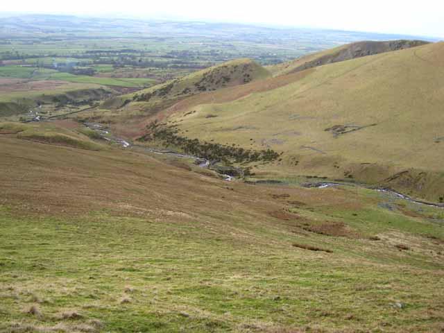Looking down Ardale