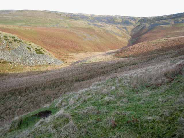 Wildboar Scar and the head of Littledale