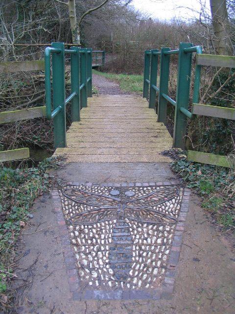 Footbridges at Canley Ford