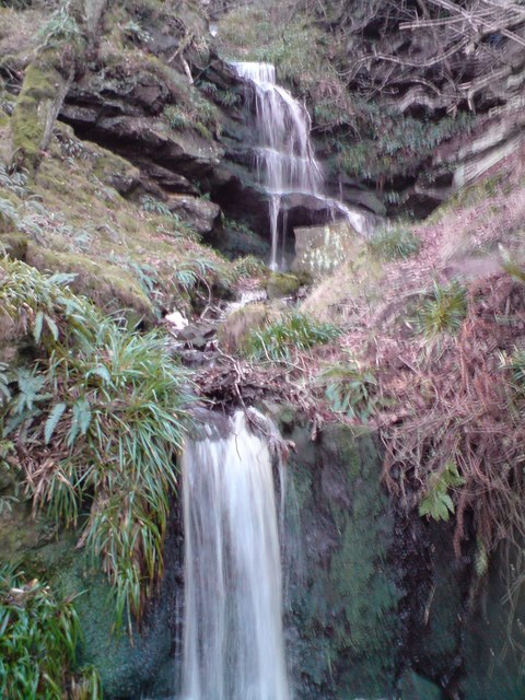 Waterfall Near Edlingham Castle (Swin Hope)
