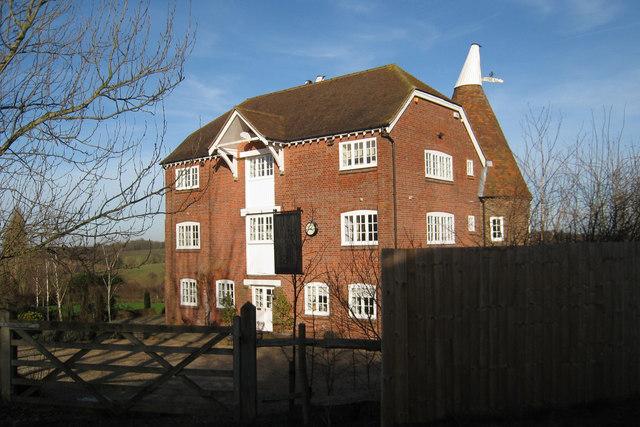 Bockingfold Oast, Codham lane, Goudhurst, Kent