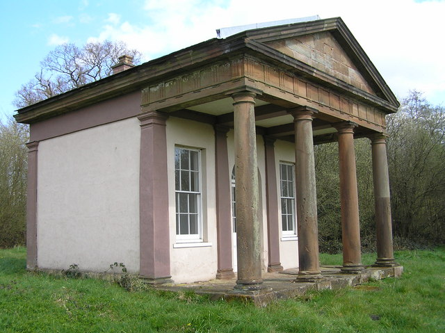 The Roman Temple, Chillington Estate