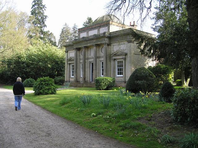 The Grecian Temple, Chillington Estate