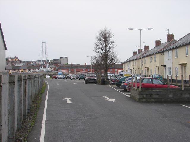 Car Park in Aberystwyth