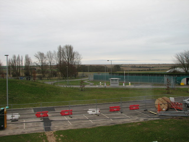 View of ridgeway