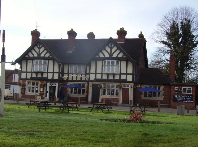 The Dog and Partridge public house in Yateley