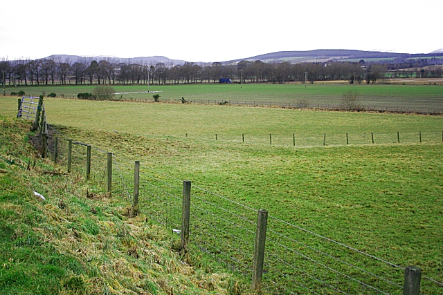 Fields north of Invergordon