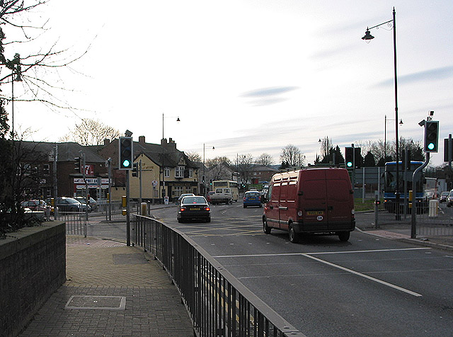 Major roundabout, Hereford