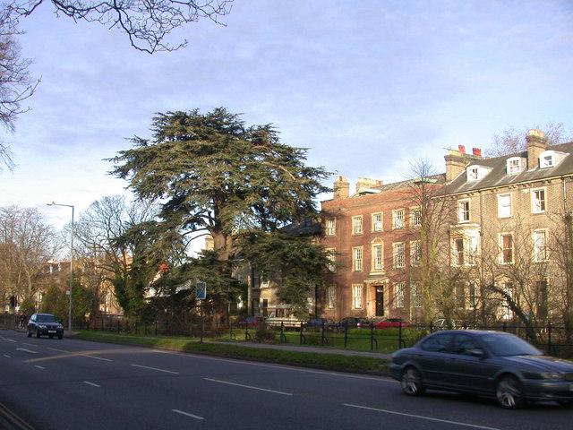 Trumpington Road and Brookside