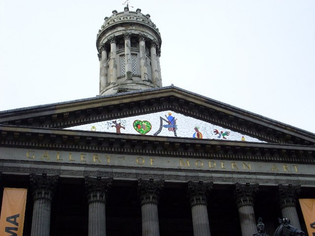 Detail on front of GoMA