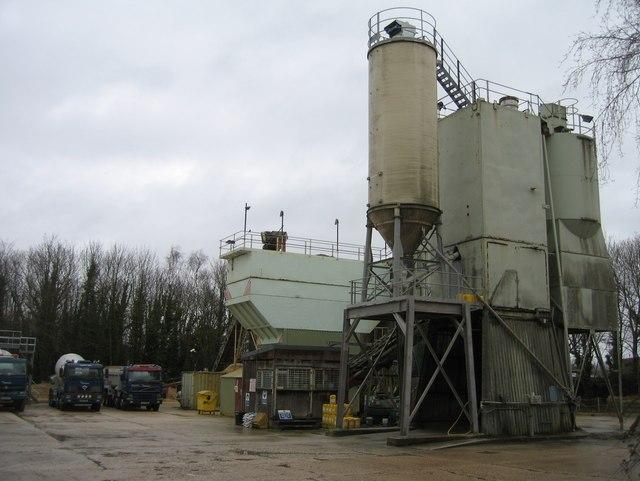 Ready-mix concrete plant - Swing Swang Lane