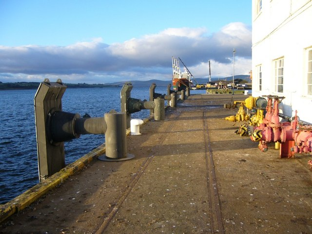 End of the pier at Invergordon