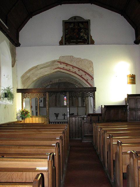 St Edmund's church - view east