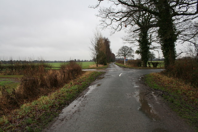 Crossroads on Osgodby Common