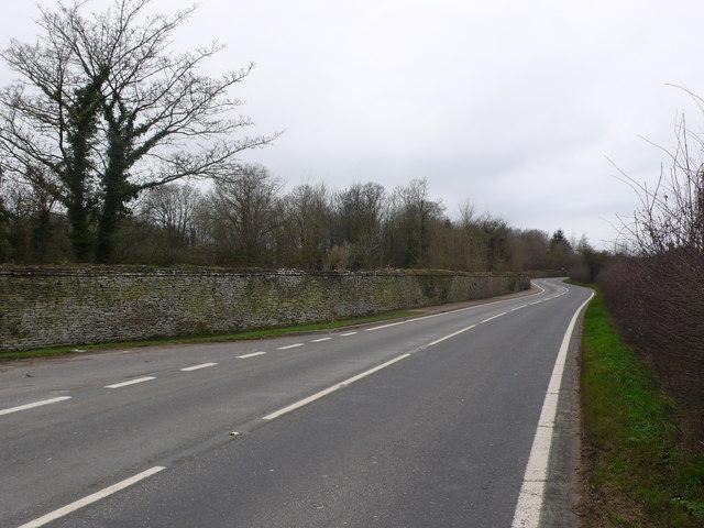 Stalbridge Park Wall