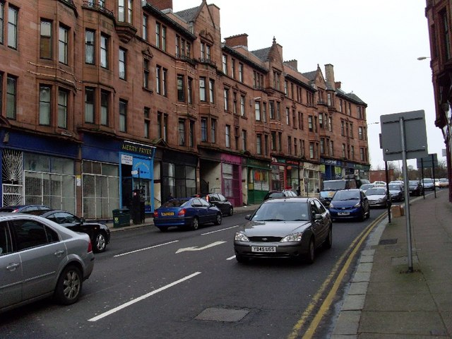 Tenements on High Street
