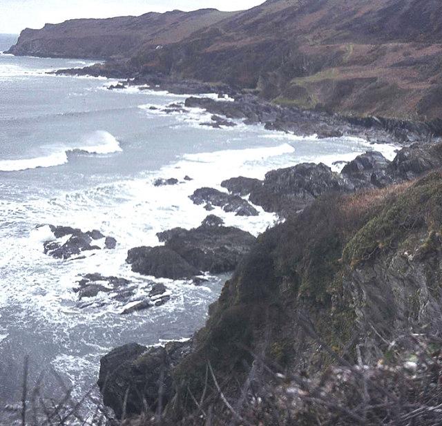 West coast of Lantivit Bay