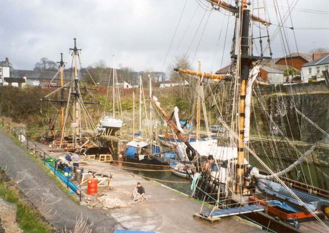 The Harbour, Charlestown, St Austell
