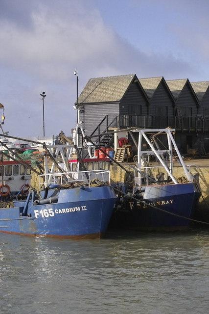 Whitstable Harbour Scene