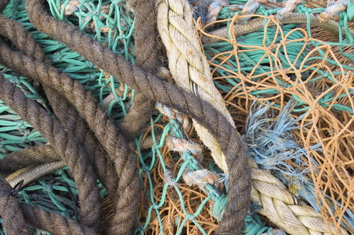 Fishing Nets at Whitstable Harbour