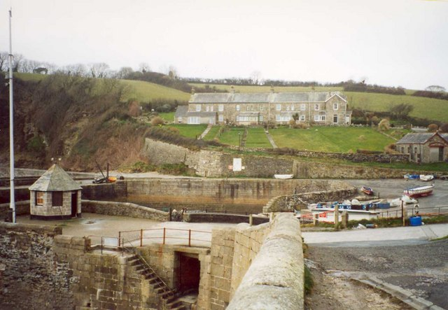 Harbour lock, Charlestown, St Austell