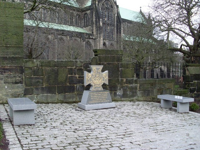 Memorial by Glasgow Cathedral