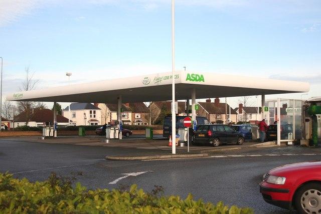 Asda Service Station