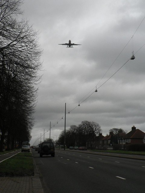 Hounslow: Great West Road and Heathrow flightpath