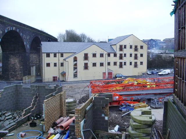 New housing on Knotts Lane Colne