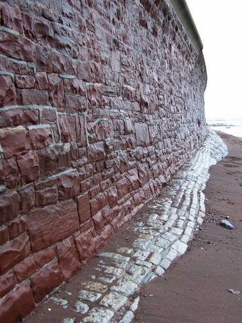 Seawall, Teignmouth