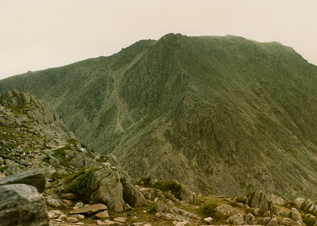 View south southeast from Tryfan